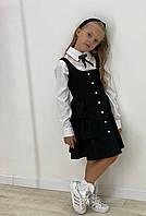 Школьный сарафан на девочку, фото 1