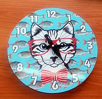 """Оригинальные настенные часы """"Кот"""""""