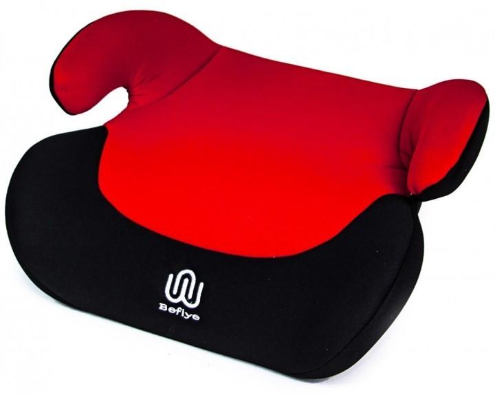 Автомобільне крісло-бустер дитяче в машину для дітей від 3 до 12 років Beflye (BST55) Чорно-червоний