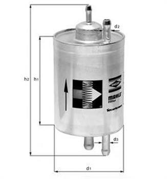 Фильтр топливный Knecht KL82