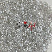 """Рідкий камінь Shiny shell - від Resin Art. Колір """"Перли що виблискують"""", 500 г"""