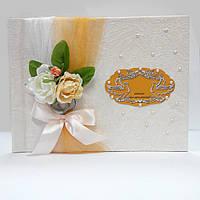 Книги пожеланий свадебная размер 20х25 40 страниц