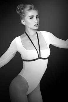 Портупея на груди Bijoux Pour Toi - JESSICA, еластичний поліестер