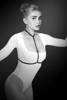 Портупея на груди Bijoux Pour Toi - PAMELA, еластичний поліестер