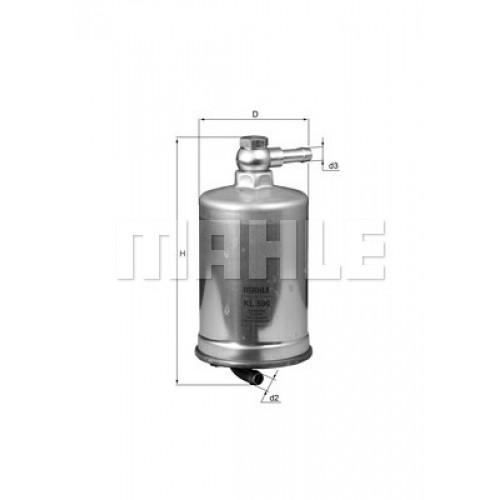 Фильтр топливный Knecht KL599