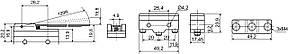 Мікровимикач Z-15HW24-B АСКО, фото 2