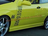 Пороги универсальные №6 Chevrolet Aveo Hatchback T300 2011-2015 2011