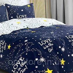 """""""звездная любовь"""" комплект постельного белья двуспальный макси 178*215 см 100%хлопок Tirоtex Тирасполь"""