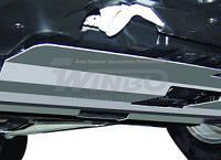 Защита двигателя Mitsubishi Outlander 2007-