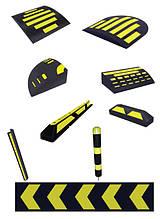 Резинотехнические изделия (РТИ), средства безопасности дорожной инфраструктуры.