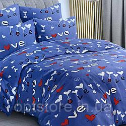 """""""love с шариками"""" комплект постельного белья двуспальный макси 178*215 см 100%хлопок Tirоtex Тирасполь"""