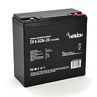 Тягова акумуляторна батарея Merlion EV 6-DZM-20, 12V 20Ah M5 (181*77*170), Q3