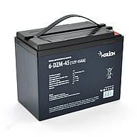 Тягова акумуляторна батарея AGM MERLION 6-DZM-45, 12V 45Ah M5 (223*121*175) Q2