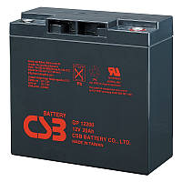 Акумуляторна батарея CSB GP12200, 12V 20Ah (181х77х167 мм), Q4