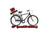 Мужской городской велосипед 28 Ardis Гетьман с багажником, черный