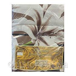 """""""цветы"""" комплект постельного белья двуспальный макси 178*215 см 100%хлопок Tirоtex Тирасполь"""