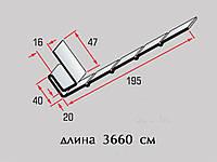 Планка фаска Т-08 коричневая