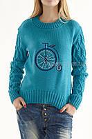 Женский свитер «Велосипед»