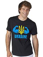 "Футболка черная ""Ukraine"""