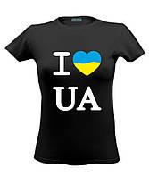 "Футболка черная ""I love Ukraine"""