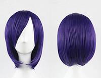Парик каре фиолетовый аниме косплей cosplay