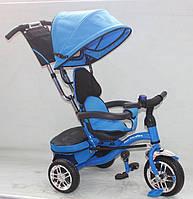 Детский трёхколёсный велосипед AT0105 Голубой