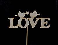 Декоративный стикер Love, фото 1