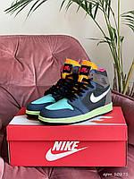 Кроссовки женские подростковые Nike Air Jordan Найк Аир Джордан Разноцветные