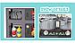 Дитяча ігрова кухня для дівчаток 8775, звук, світло, тече вода, в коробці, 52 предмета, фото 6
