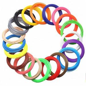 Пластикова нитка для 3д ручки Комплект 200 метрів 20 мотків по 10 метрів різні кольори ТІЛЬКИ УПАКОВКОЮ