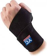 Напульсник Неопреновый с Фиксатором для Волейбола YC Suppor Wrist Wrap бандаж на руку
