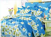 Недорогие качественные комплекты постельного белья полуторные, двуспальные, евро, семейные из  поплина