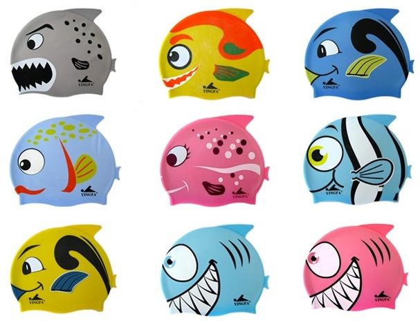 Детские шапочки для плавания (до 4-5 лет)