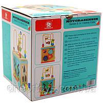 """Дерев'яна іграшка Top Bright сортер бізі-куб """"Великий лабіринт», 1+ (120315), фото 2"""