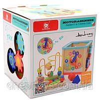 """Дерев'яна іграшка Top Bright сортер бізі-куб """"Великий лабіринт», 1+ (120315), фото 3"""