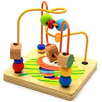 """Дерев'яна іграшка Top Bright сортер бізі-куб """"Великий лабіринт», 1+ (120315), фото 6"""