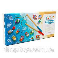 Деревянная развивающая игрушка «Рыбалка на магнитах», Cubika Levenya, от 2 лет, 33*17*4 см, (13739), фото 4