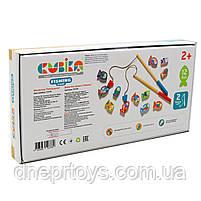 Деревянная развивающая игрушка «Рыбалка на магнитах», Cubika Levenya, от 2 лет, 33*17*4 см, (13739), фото 5