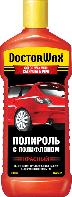 DW8417 Цветная полироль с полифлоном. Красная 300 мл