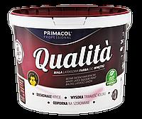 Біла акрилова фарба Qualita (10 літрів)