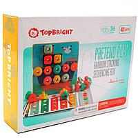 Розвиваюча іграшка Top Bright Складна мозаїка і шнурівка (120450), фото 2