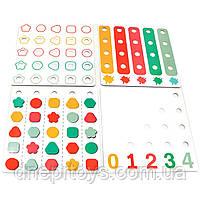 Розвиваюча іграшка Top Bright Складна мозаїка і шнурівка (120450), фото 6