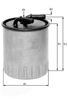 Фільтр паливний Knecht KL490D