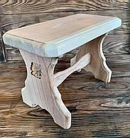 Табуретка, стул, скамеечка из натурального дерева