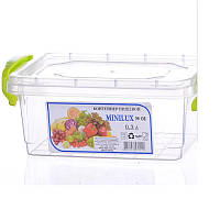 Контейнер для хранения пищи Minilux 0,3 л. Прямоугольный