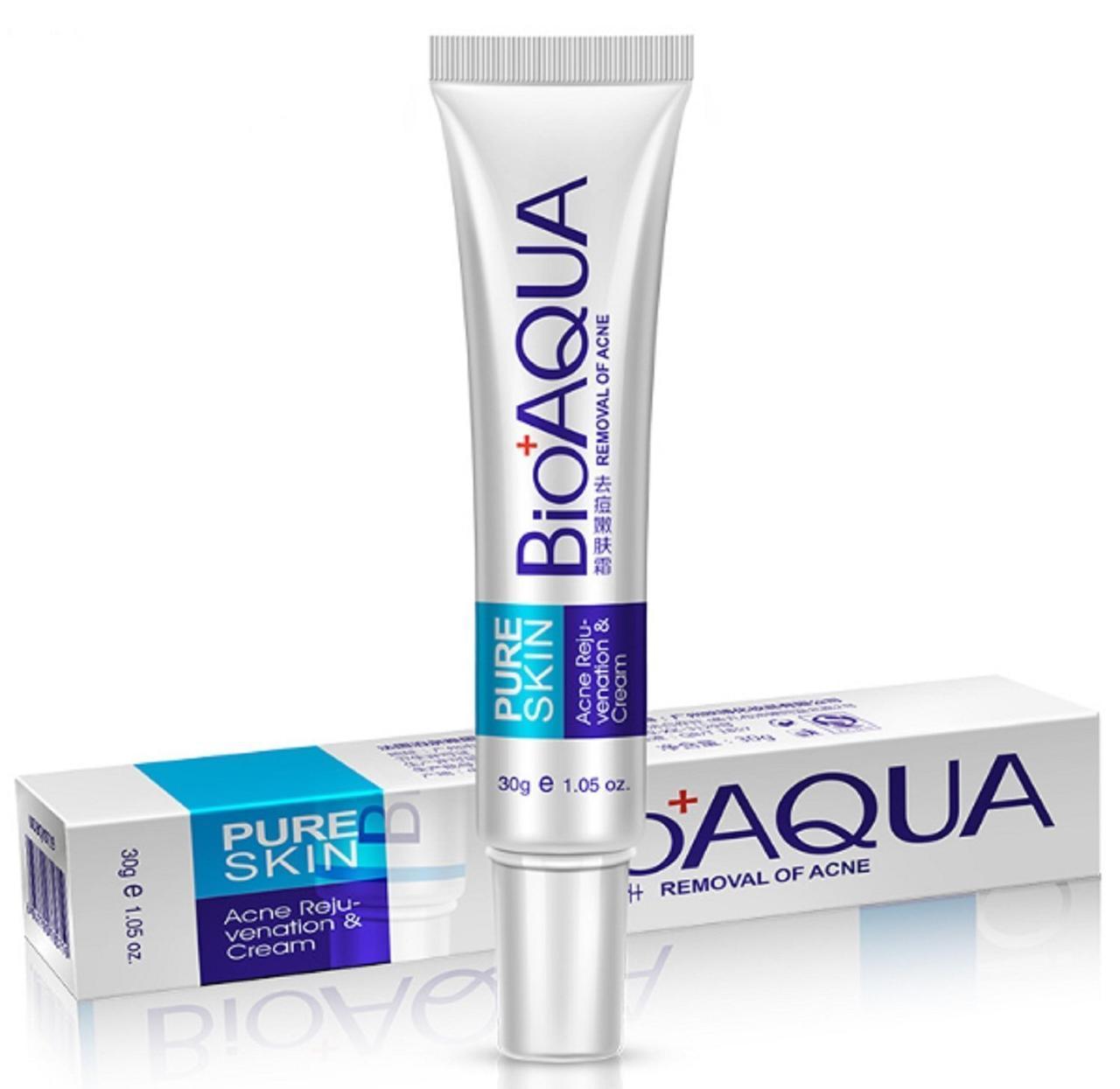 Крем для обличчя від прищів BIOAQUA Pure Skin Removal of Acne Cream, 30г