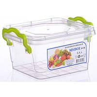 Контейнер для хранения пищи Minilux 0,4 л. Прямоугольный