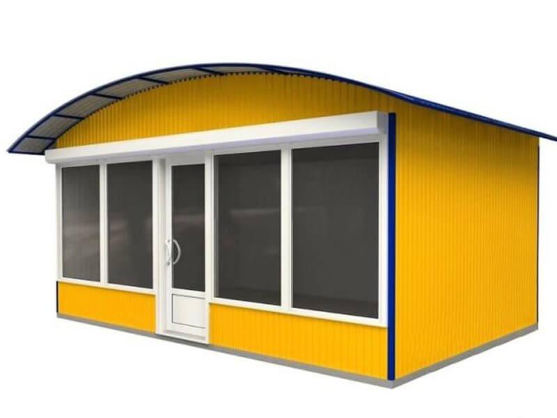 Торгово выставочный павильон проект