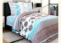 Полуторный комплект постельного белья ТМ Блакит (Белоруссия), Агат, поплин, лучшая цена!