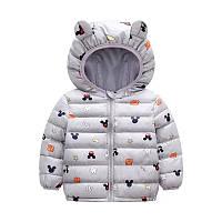 Деми куртка для малышей размер 86.